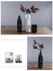 Nordic Minimalist Ceramic Abstract Vase