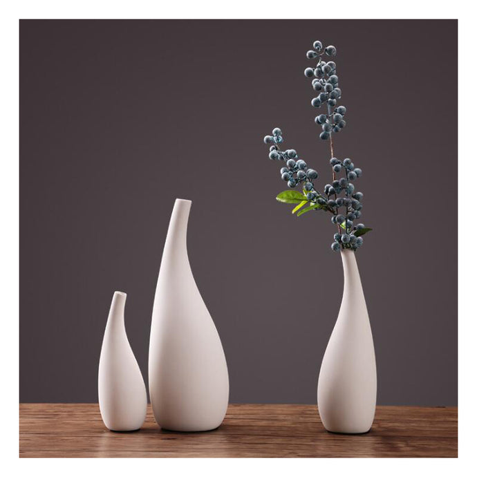 Nordic Simple Water Drop Vase
