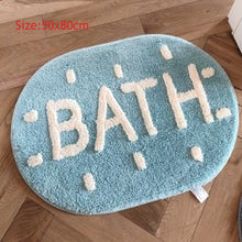Load image into Gallery viewer, Water Absorption Bath Mat Non Slip