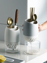 Load image into Gallery viewer, Kitchen Sink Cutlery Holder & Drainer