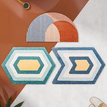 Load image into Gallery viewer, Geometric Area Rug Modern