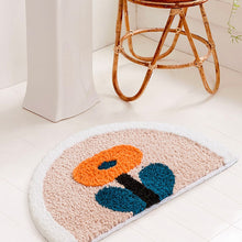Load image into Gallery viewer, Floral Bath Mat Anti Slip