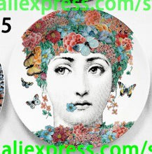 Load image into Gallery viewer, Home and Hotel Bar Background Adornment Plates Ceramic Artistic Plate
