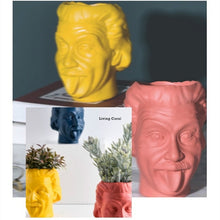 Load image into Gallery viewer, Einstein Portrait Vase Character Sculpture