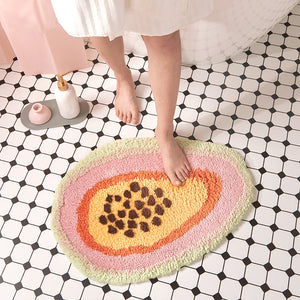 Papaya Area Rugs Bathroom