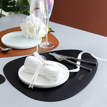 Load image into Gallery viewer, Modern Dining Table Placemat PU Leather