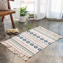 Load image into Gallery viewer, Geo Modern Cotton Tufted Rug
