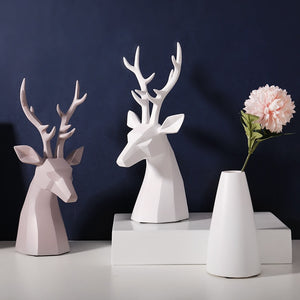 Modern Minimalist Deer Resin Ornament