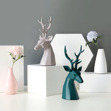 Load image into Gallery viewer, Modern Minimalist Deer Resin Ornament