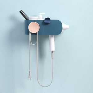 Modern Minimalist Wall Mounted Hair Dryer Holder