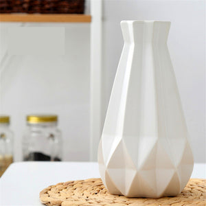 Matt Diamond Porcelain Vase