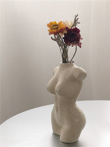Female Nude Body Vase 12cm