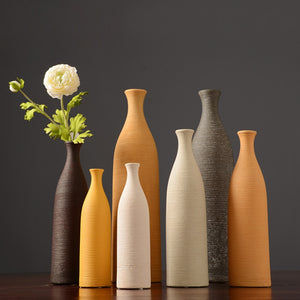 Nordic Dried Flower Ceramic Vase