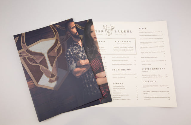 How to design amazing menus