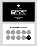 Coffee or Loyalty Cards