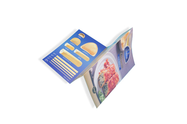 6pp A4 Folded Brochures