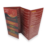 8pp DL Folded Brochures