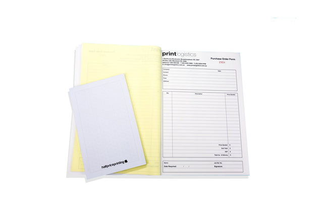 A4 NCR (Carbonless) Books