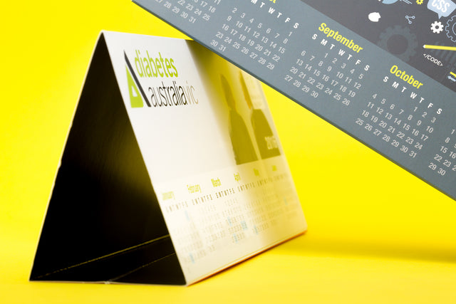 Desktop Tent Calendars (Glued)