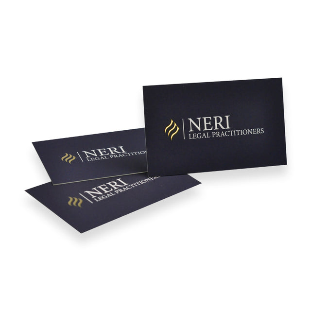 Bling Foil Business Cards