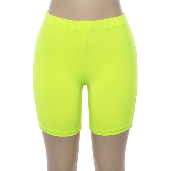Neon Moment Bike Shorts