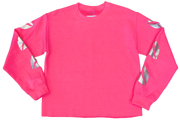 Neon Kisses Crew Sweatshirt