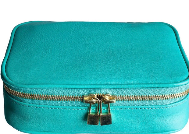 Isabella Leather Jewelry Case - RainTree Boutique