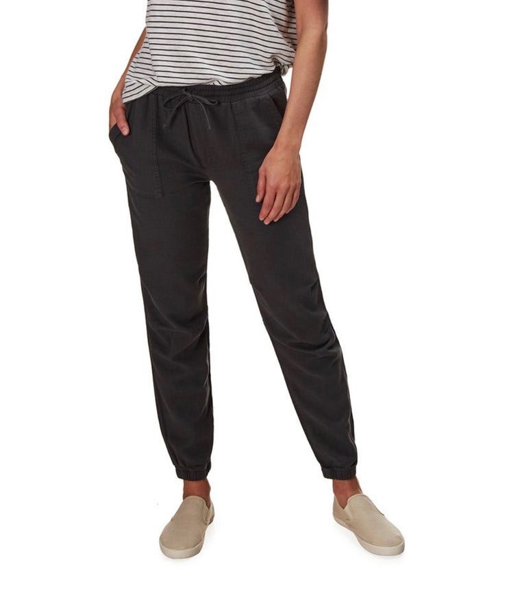 Snap Pocket Cotton Jogger
