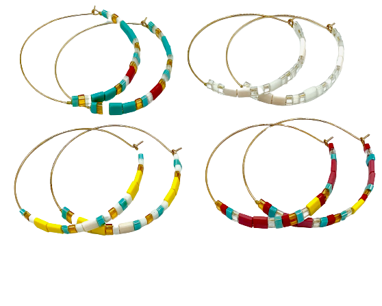 Hamani Hoop Earrings
