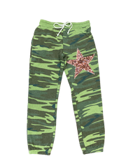 Camo Sweatpants with Star
