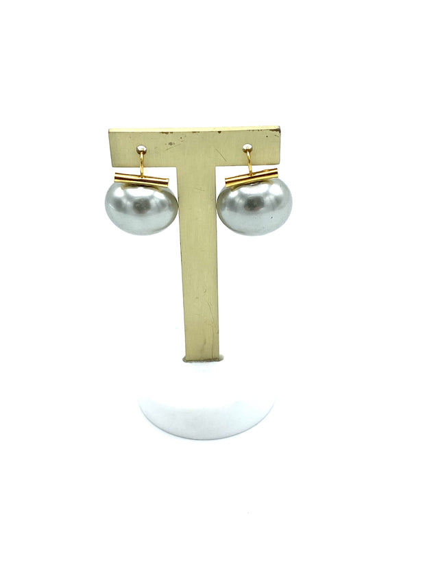 Canino Pearl & 14K Earring - RainTree Boutique