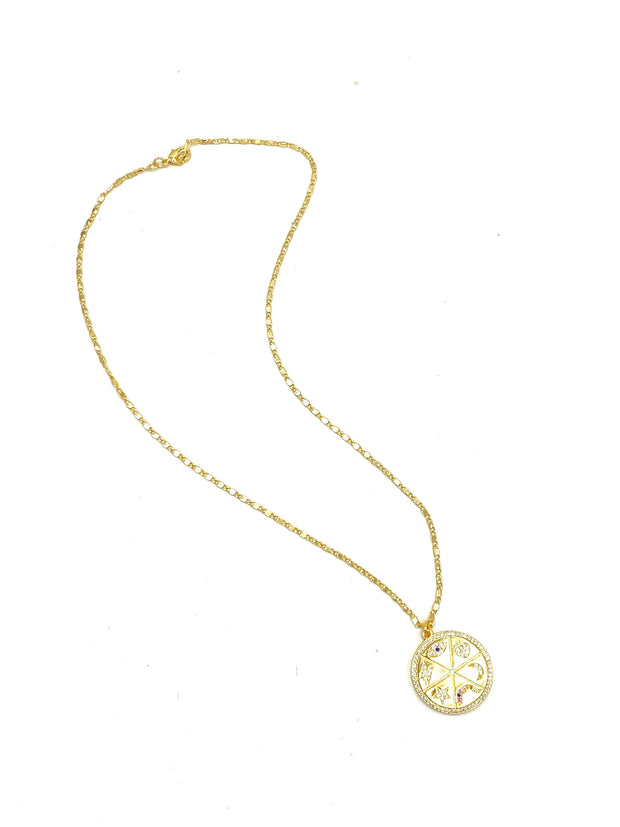 Lucky Coin Necklace - RainTree Boutique
