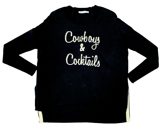 Cocktails & Cowboys Pullover