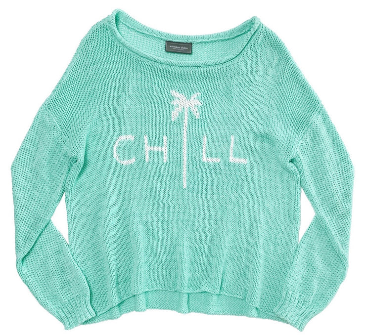 Chill Long Sleeve Cotton Knit Top