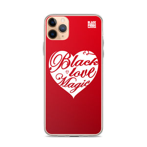 Black Love Magic - iPhone Case