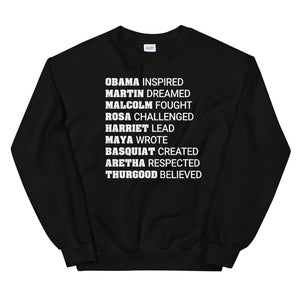 Black History & Black Leaders Sweatshirt (4524202491989)
