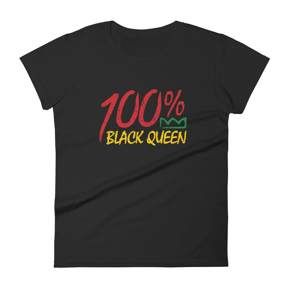 100% Black Queen T-shirt
