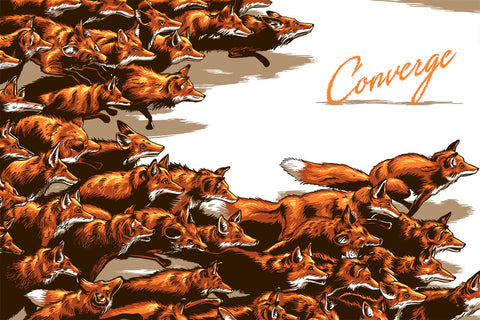 Converge Fox Poster