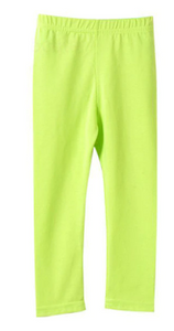Citrus Green Leggings