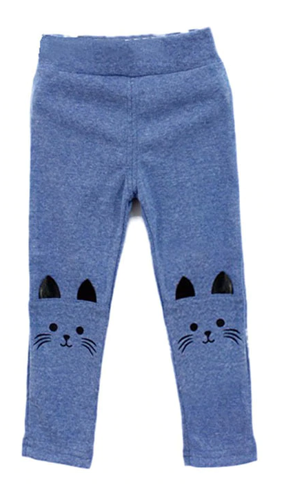 Childs Leggings - Blue