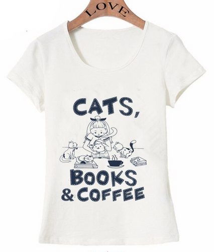 Coffee, Cats, Books