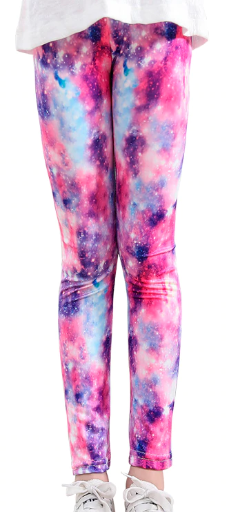 Kids Leggings -  Light Galaxy