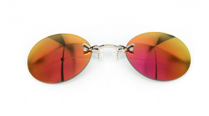 Matrix Style Sunglasses - Orange