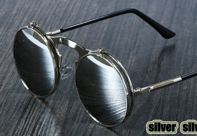 Steam Punk Glasses - Black