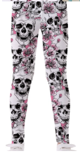 Kids Leggings - Sugar Skull