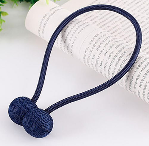 Magnetic Curtain Tie Back - Dark Blue