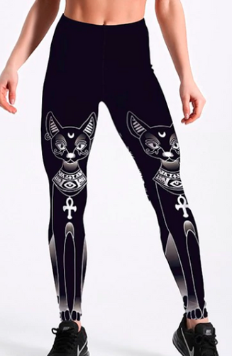 Egyptian Cat Leggings