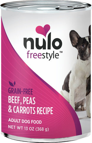 Nulo Freestyle Grain-Free Beef, Peas & Carrots Recipe