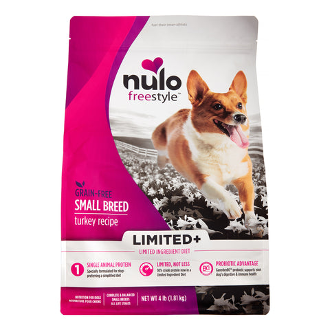 Nulo Freestyle Grain-Free Limited Ingredient Diet Turkey Small Breed Recipe