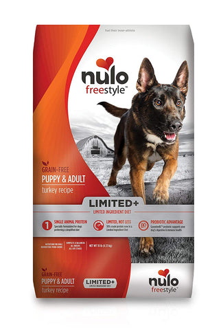 Nulo Freestyle Grain-Free Limited + Turkey Puppy & Adult Recipe